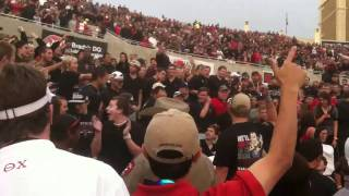 Aggie fans aren't welcome at Texas Tech