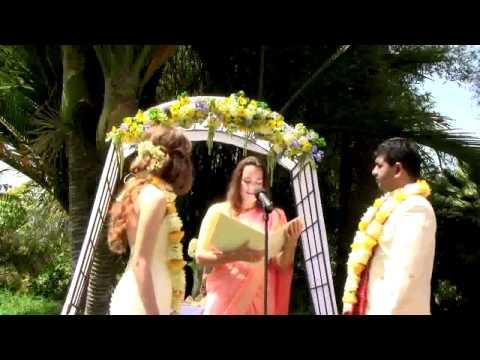 Kelley & Rohith's Wedding at the Santa Barbara Zoo