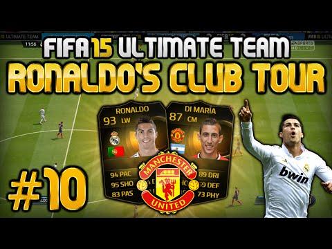 FIFA 15 - Ronaldo's Club Tour #10 - Manchester United