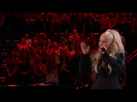Christina Aguilera singing 'I Put A Spell On You' on The Voice (ft. Joe Maye)