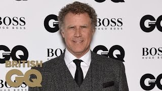 Will Ferrell cries accepting his Comedian of the Year Award - GQ Awards