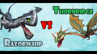 Razorwhip vs Thornridge