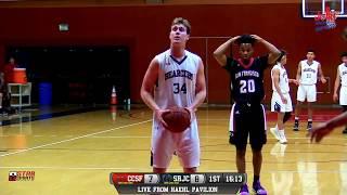 CCSF vs Santa Rosa Junior College Men's Basketball LIVE 12/5/18