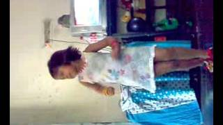 Bengali little girl dancing by momtz song