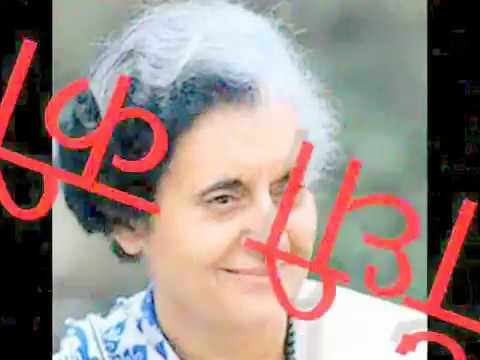 Dr. Hariom Panwar's Poem indira Gandhi Ki Death video