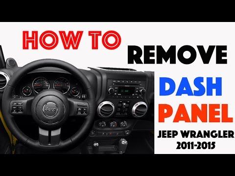 Service Manual How Remove Dash On A 1997 Jeep Grand