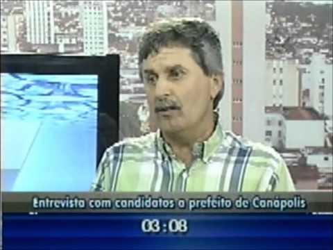Entrevista com candidato a prefeito de Canápolis Diógenes Roberto Borges