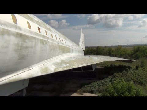 В гостях у Ту-144 СССР-77108/Tu-144 Samara SGAU