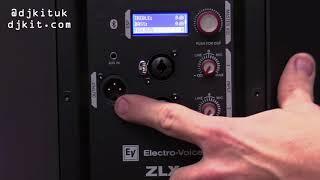 Electro-Voice ZLX-BT Active PA Speaker tech talk w/ Product Specialist Arthur Achard