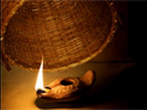 2 quotthe candle under a bushelquot youtube for Light a lamp and put it under a basket