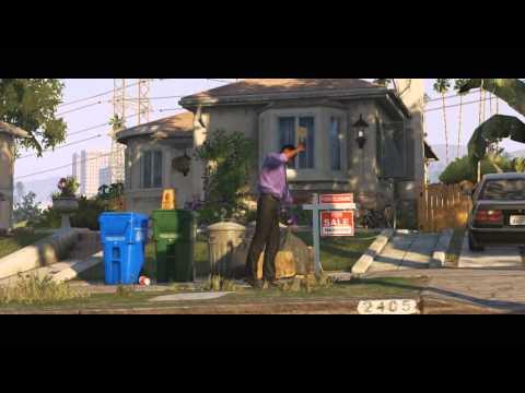 Первый официальный видео трейлер GTA 5