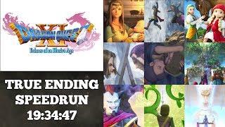 Longest Speedrun Of 2018 ⏰ Part 1 | Dragon Quest 11 Speedrun | World Record On 9/21/2018 | 19:34:47
