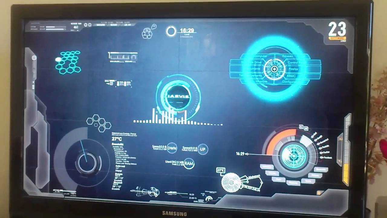 Jarvis Interface Sarah Youtube