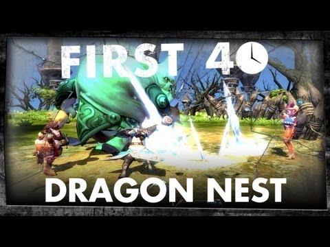 First 40 - Dragon Nest (Gameplay)