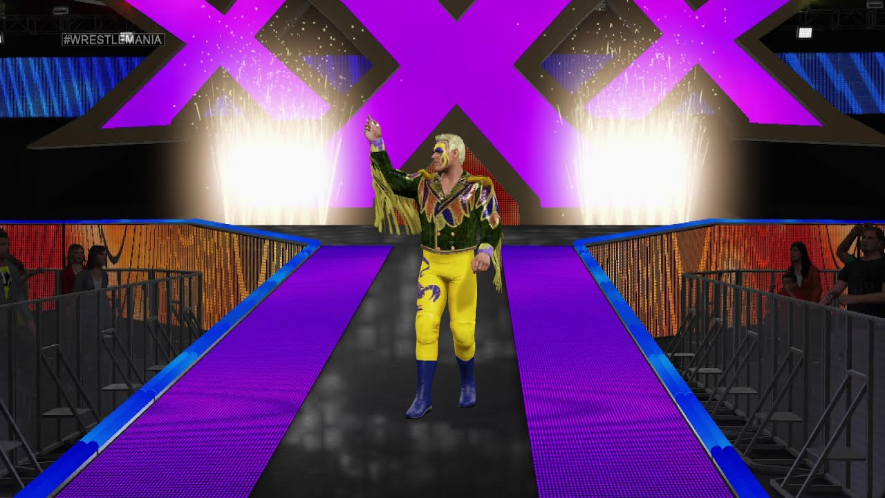 Surfer Sting's WWE 2K15 Entrance: NEXT GEN - YouTube