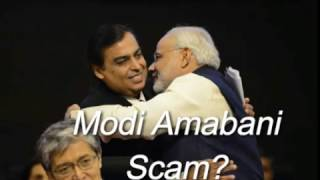 Modi's Scam on demonetization! Modi's hand on Reliance Ambani Jio! Latest scam! India.