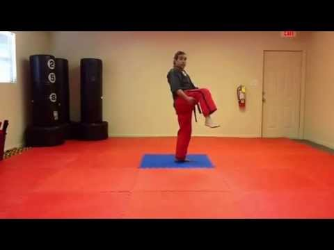 Crescent Kick Tutorial - Inside & Outside (Standing, Spinning & Jumping)