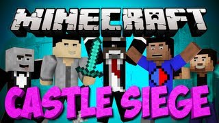 "Minecraft NEW ""CASTLE SIEGE Mulitiplayer Server"" Minigame"