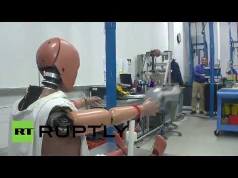 USA: Does this obese crash dummy reflect America's expanding belly?