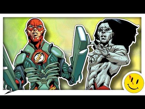 Х'эл: Атака Лиги Справедливости 👤 (Часть 3) (DC comics. New-52)