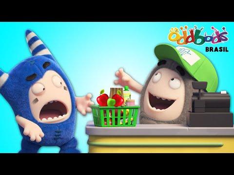 Oddbods | SUPERMERCADO | Desenho Animado Divertido Para Crianças