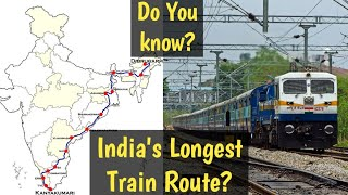 "India's longest Route train | ""Vivek Express"" Full Information"