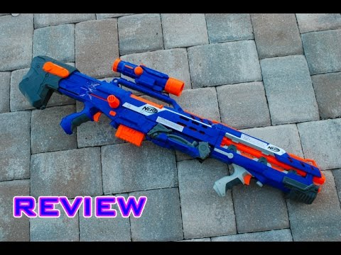 [REVIEW] Nerf Elite Longshot CS-6 Unboxing. Review. & Firing Test