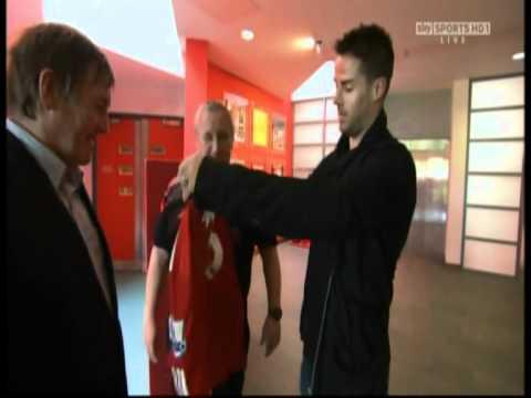 Jamie Redknapp Visits Kenny Dalglish