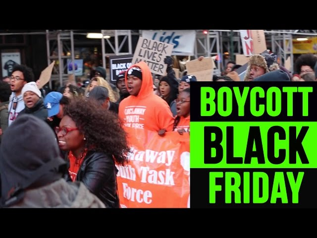 Mike Brown | Boycott Black Friday | NYC Protest