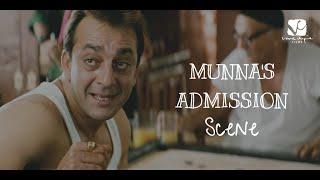 Munna's admission - Funny scene   Munna Bhai MBBS   Sanjay Dutt   Arshad Warsi   Boman Irani