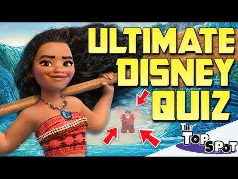 ULTIMATE DISNEY QUIZ!! - ONLY TRUE FANS CAN PASS ALL 10 QUESTIONS!!