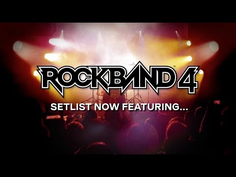 Rock Band 4: New Songs Revealed Trailer