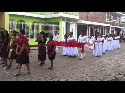 Desfile del 15 de Septiembre 2014 Joyabaj, Quiché, Guatemala - Parte 1 HD