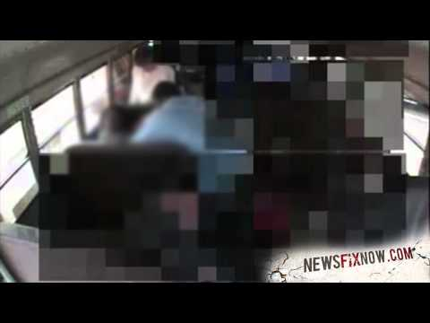 School employees caught abusing disabled student on bus