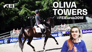 Showaround with Olivia Towers at the #FEIEuros2019 in Rotterdam