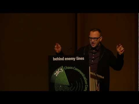 28c3: The coming war on general computation