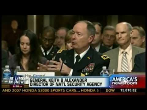 6/13/13 NSA director says surveillance program has already prevented multiple terrorists' attacks