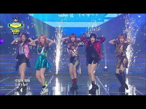 【TVPP】4MINUTE - Whatcha Doin' Today, 포미닛 - 오늘 뭐해 @ Comeback Stage, Show Champion Live