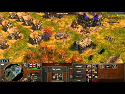 Age of Empires 3 - Spannendes 1vs1 - Pilophas vs BigBoon [Deutsch/HD]