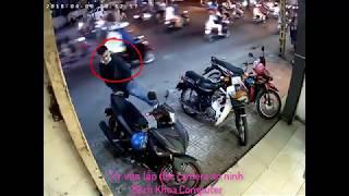 Trộm dùng chân bẻ khóa cổ exciter chủ nhà phát hiện kịp tí thì mất xe