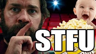 Shut Up When Watching A Quiet Place in Theaters - Up At Noon Live!