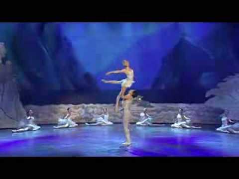 Final Ballet Lago de los cisnes, espectacular!!!
