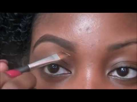 How to fill in your eyebrows ♥