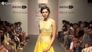 Sayantan Sarkar/ Sonam& Paras Modi | Jabong Stage | Lakmé Fashion Week Summer/Resort 2014