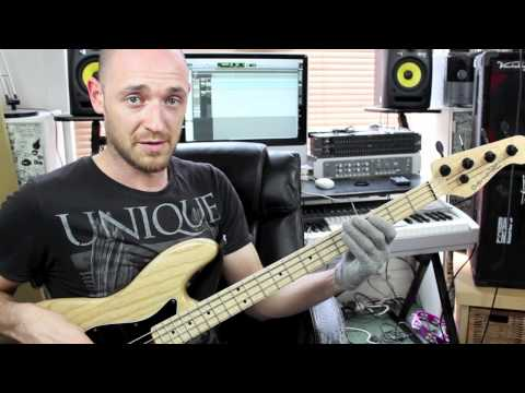 Funky Bass Groove Breakdown - Lesson With Scott Devine (l#66) video