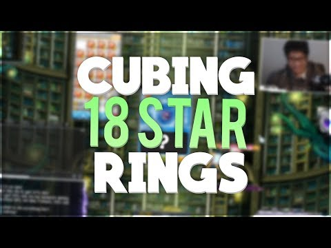 NA Reboot Cubing 18-Star Rings