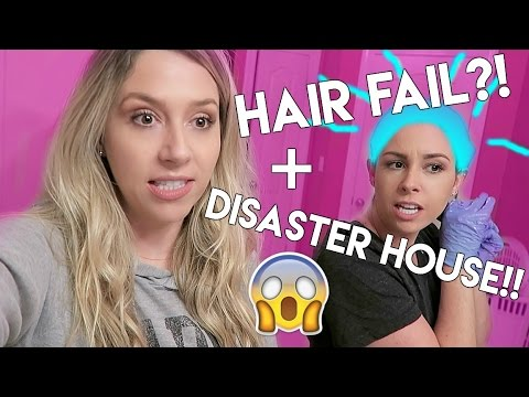 HAIR FAIL + Stef's House DISASTER!