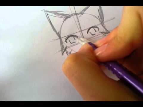 How to Draw Cartoon Warrior Cats How to Draw a Warrior Cat