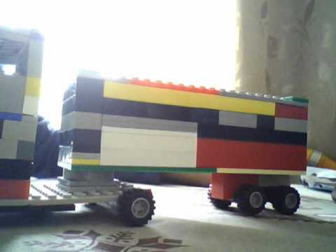 обзор лего грузовика