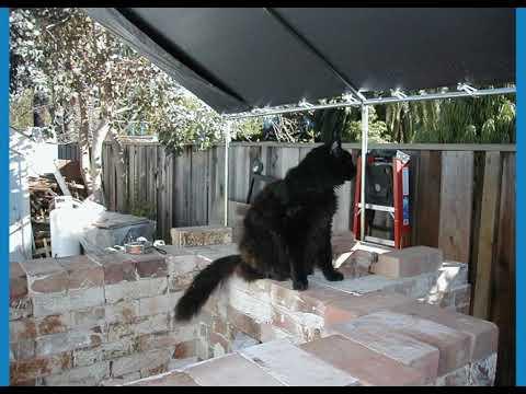 Building a wood kiln